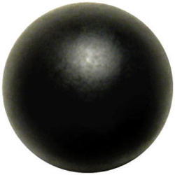 "6-1 All Black - Matte - Contour Ball (1/2"")"