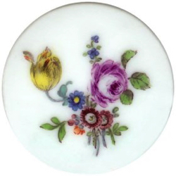 "2-2 Porcelain - 18th Century Hand Painted (1-1/2"")"