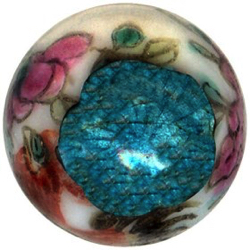 "2-8 Other Material Embellishments - Enameled Pin Shank - Ball   (9/16"")"