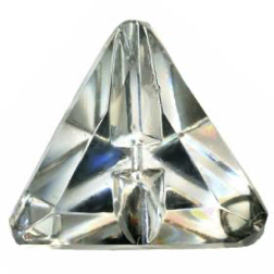 7-7.2 Molded/cut surface design - faceted  - Linear Modified Triangle shape