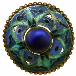 "4-3 OME - Glass - Cabochon - Openwork (1-1/2"")"