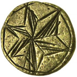 10-7 Yellow Metal - 17th Century English (See Reference 3)