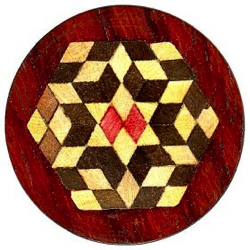 "14-5.1 Mechanical Makeup - Inlay Parquetry  (1"")"